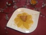 Triangle à l'amande à l'ananas