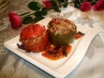 Tajine aux légumes farcis au riz et viande hachée