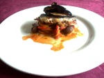 Tajine de sardines aux auberginesfrits