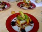 Fruits à la crème patissière