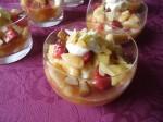 Salade de fruits et crème