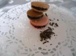 Macarons café chocolat fraise