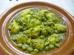 Poulet aux olives et citronconfit